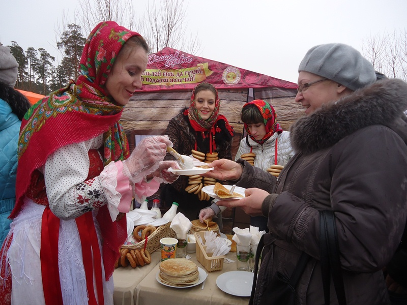 The most large-scale Shrovetide procession in Russia will be held in Gorky Park