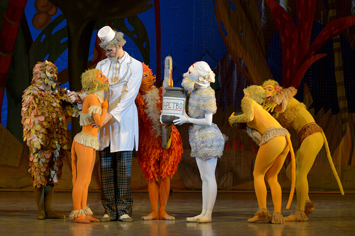 Natalia Sats Children's Musical Theater opened the anniversary season