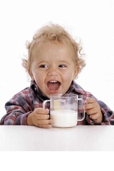 Goat's milk in the children's menu