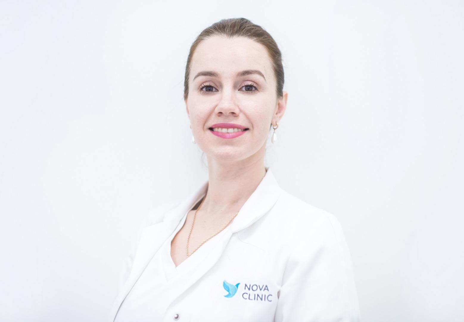 Елена Варламовна Кавтеладзе, врач гинеколог-репродуктолог сети центров репродукции и генетики Нова Клиник