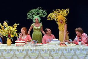 En el teatro Sats presentará la ópera