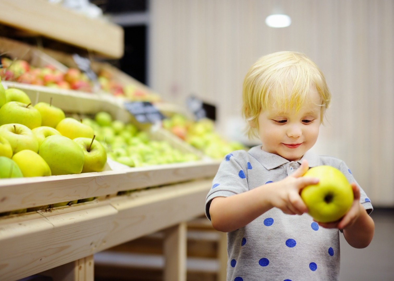 5 fun lessons in the store: developing intelligence