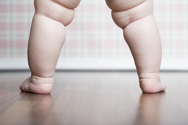 Folds on the legs