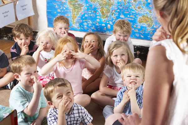 Soon kindergarten?