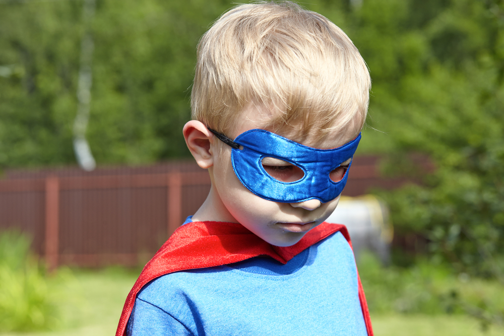 Why do children need superheroes