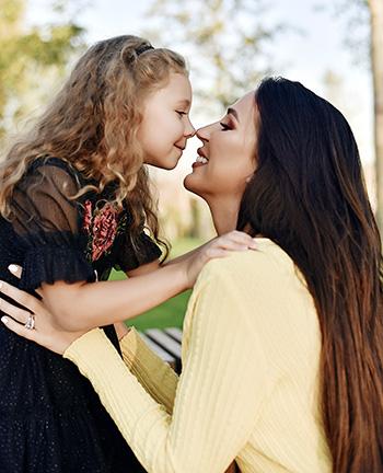 Наталья с дочкой Даниэллой