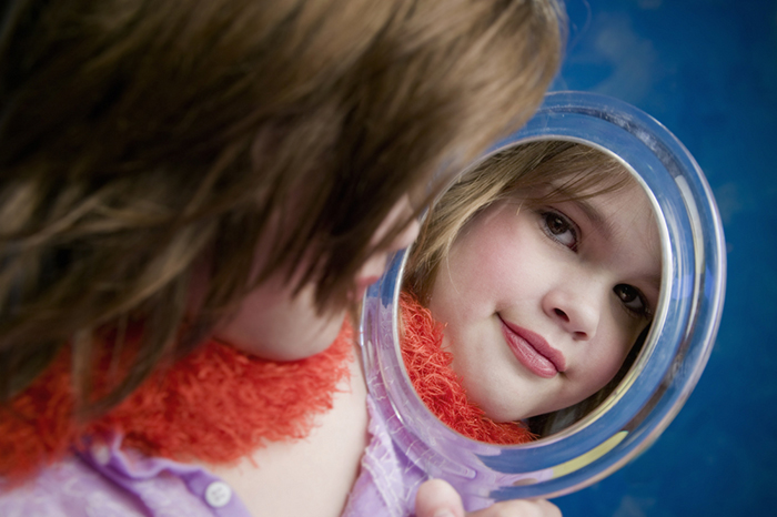 Don't be born beautiful: how to instill this thought in a modern child