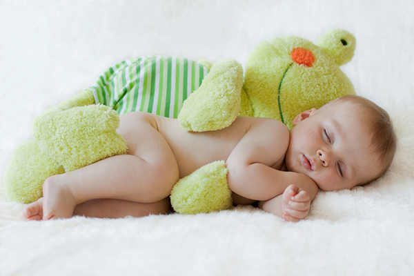 Mi bebe duerme toda la noche