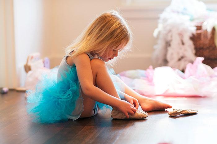 Ребенок и танцевальная студия