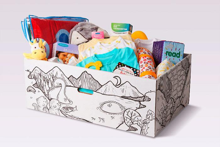 Коробка для новорожденных: что внутри?
