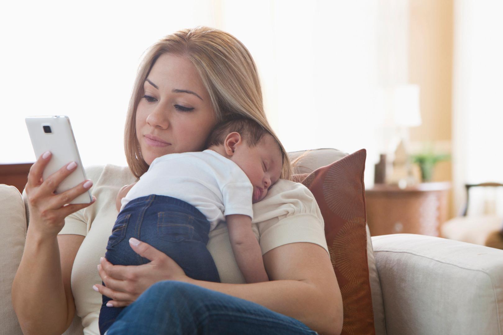 Kidzon: мобильный сервис для мам
