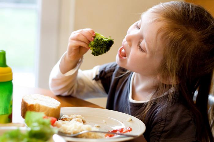 Воспитание аппетита