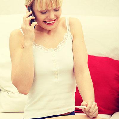 Двойная сплошная: как сообщить мужчине о беременности