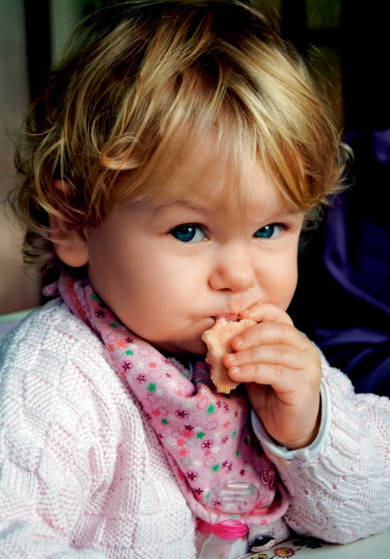 Baby cookies: learn to chew