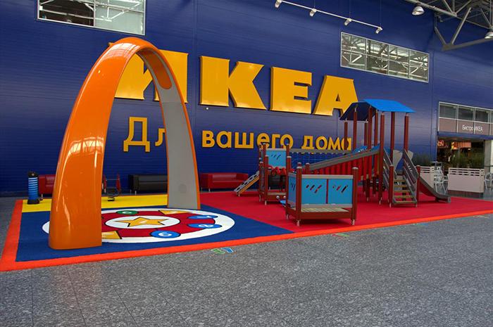 Mega-entertainment for children: 11 playgrounds