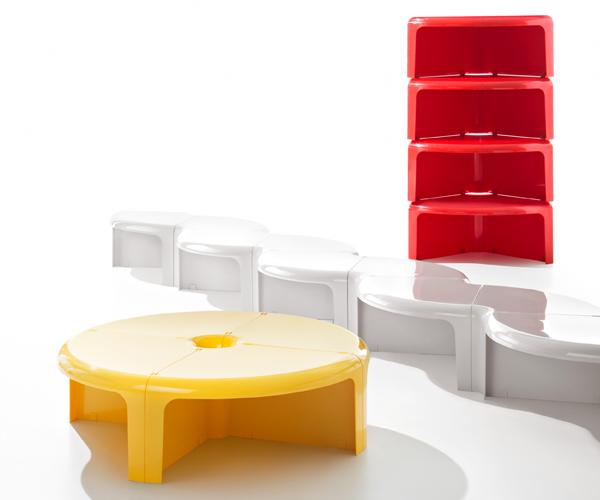 Infantil como diseñador: una cama transformadora y un mueble modular.