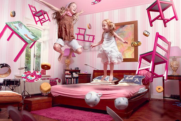 Детская как конструктор: кровать-трансформер и модульная мебель
