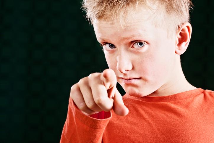 La falta de autoridad en el comportamiento del niño.