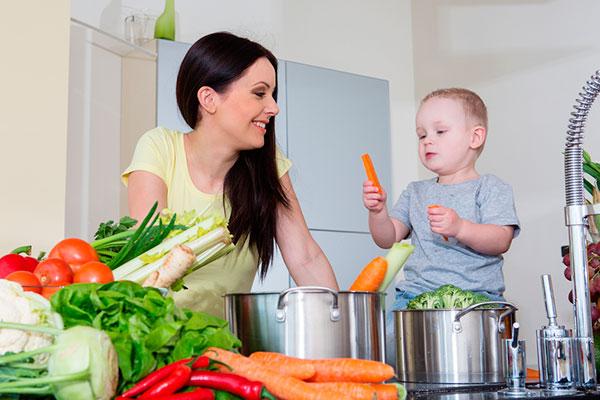 Как организовать развивающий центр на кухне