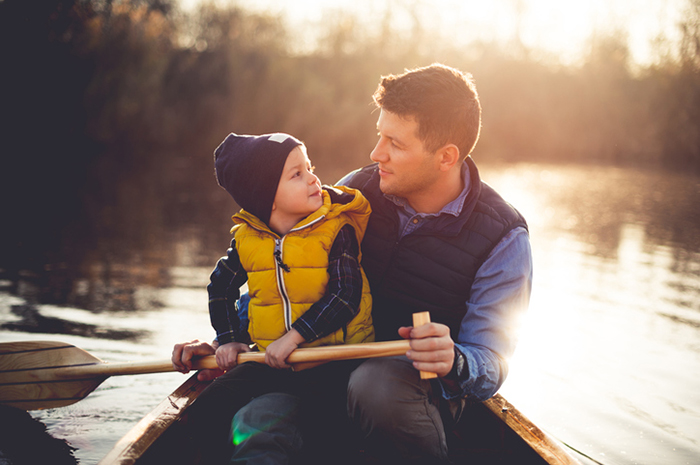 5 things dad teaches son