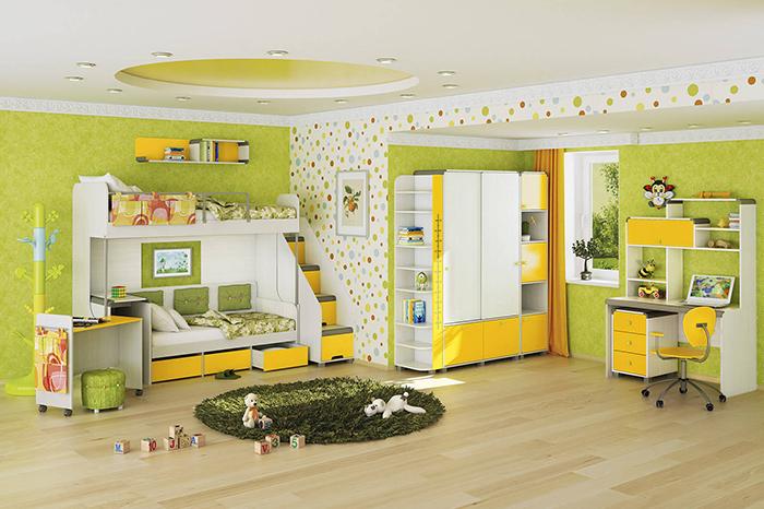 Как правильно выбрать мебель в детскую комнату?