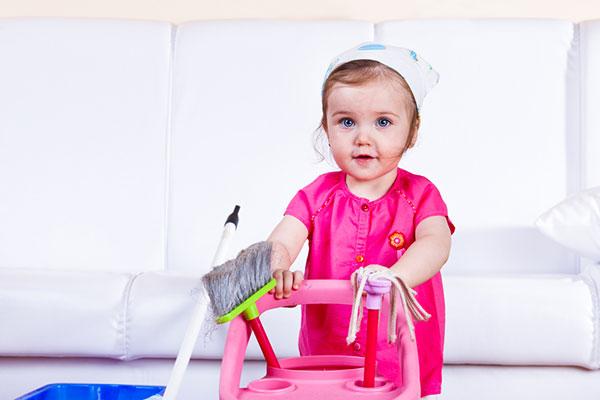 Все в порядке: как приучить ребенка убирать за собой