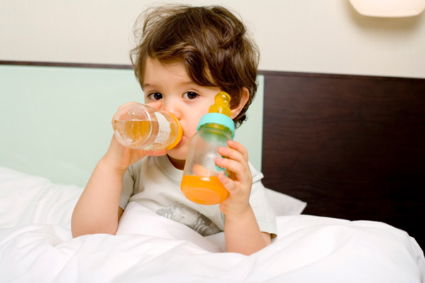 Menu for a sick child