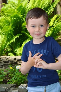 Дима Подмарев , 4 года , в парке Домодедово
