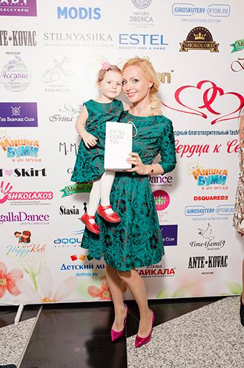 Ирина Сашина с дочерью Марийкой
