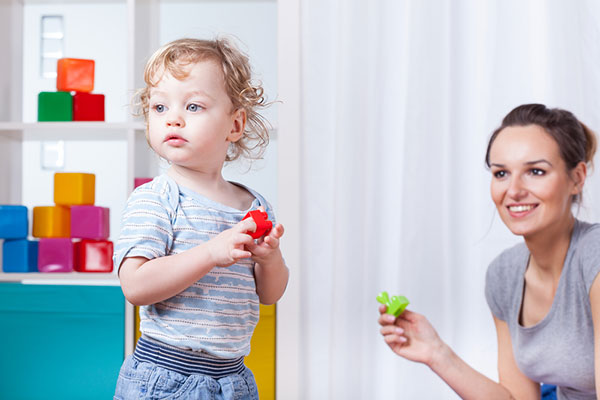How to teach a child to play on their own
