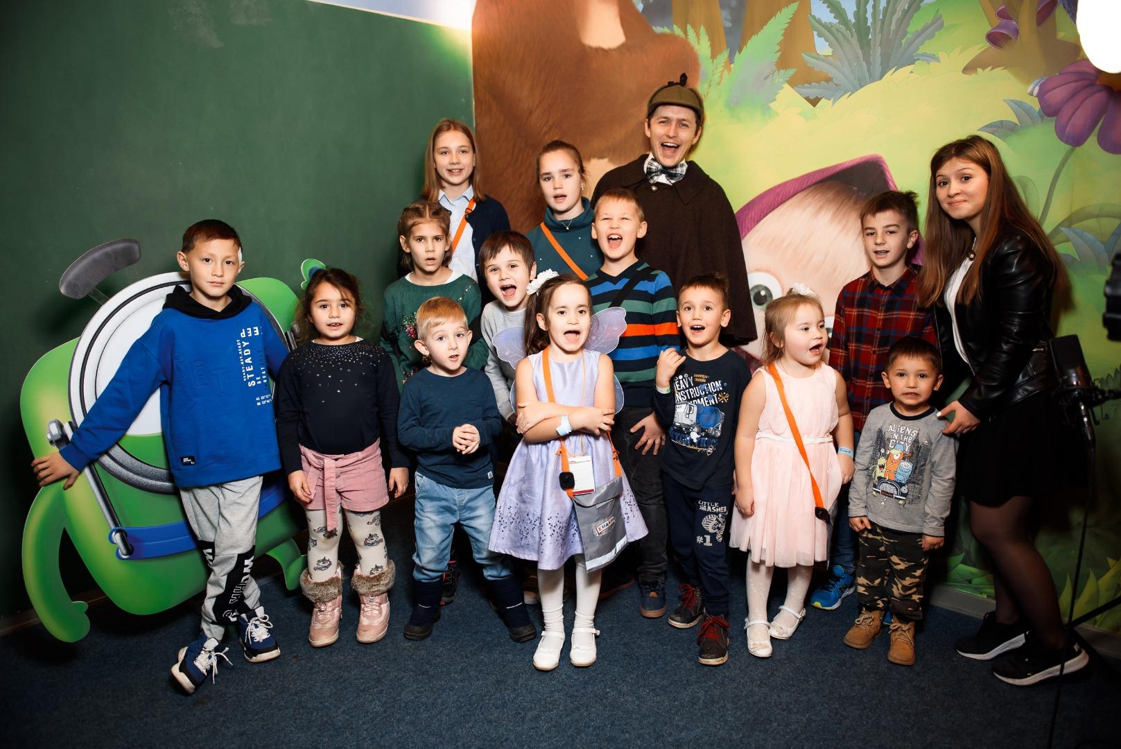 Children's holidays tvzvar in the center of the capital