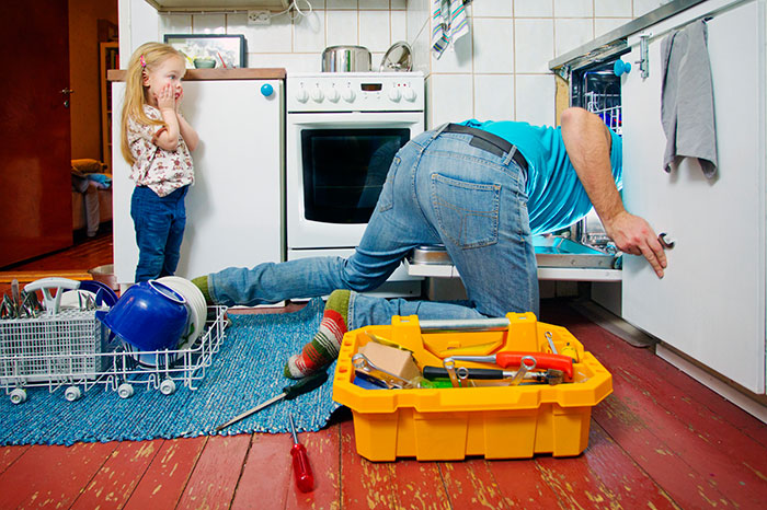 Dishwasher: 6 mistakes made by the owners