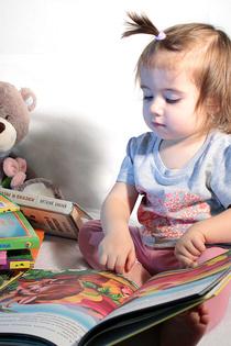 Читаем книжки вместе с Мишкой
