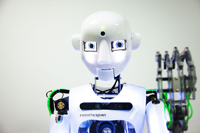On VDNH settle the most famous robots of the world