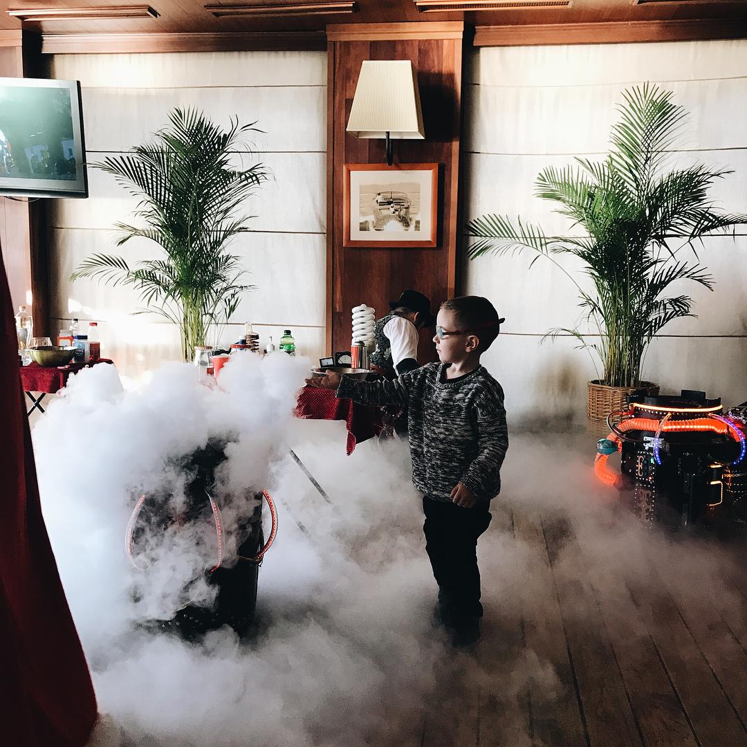 Children's holidays in the restaurant