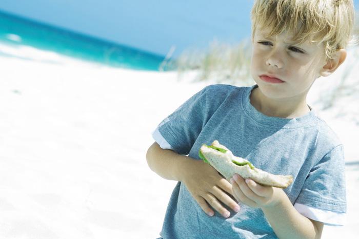 Enfermedades del hígado y la vesícula biliar en un niño