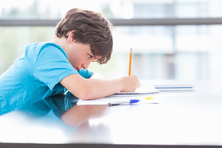 How to teach a child to do homework on time?