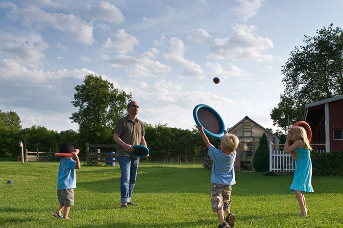 Come out to play: outdoor games for children's company