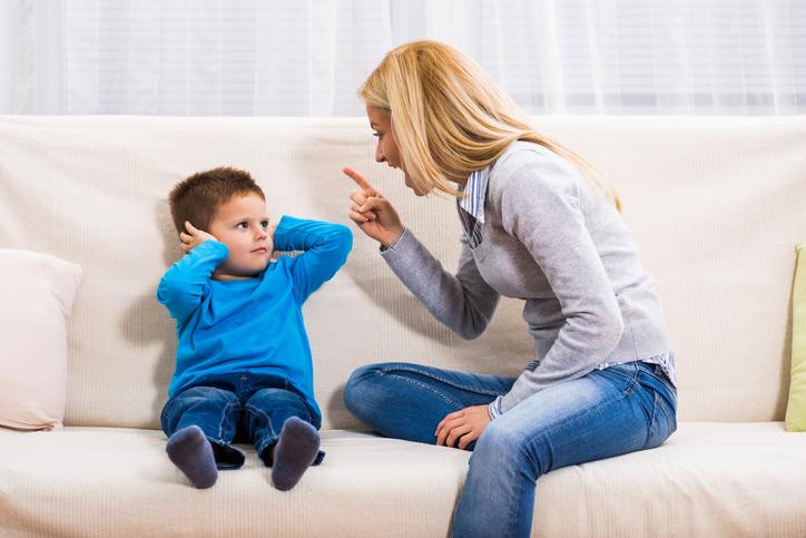 Агрессия на ребенка