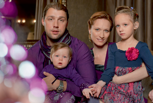 Dance for four: Maria Kiseleva and her family