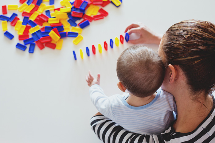 How your baby perceives information