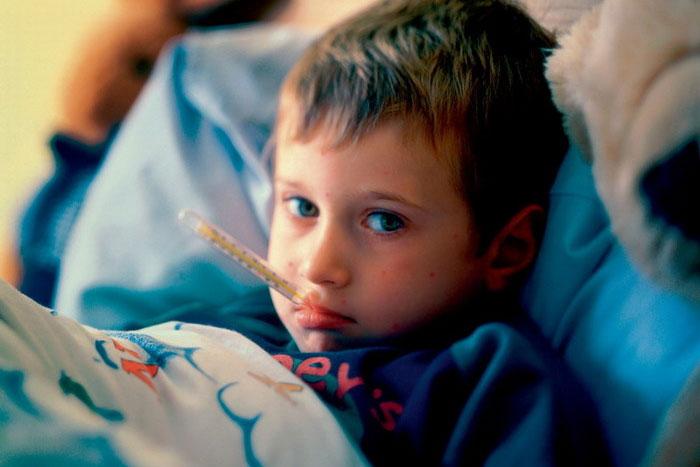 У ребенка грипп: что делать