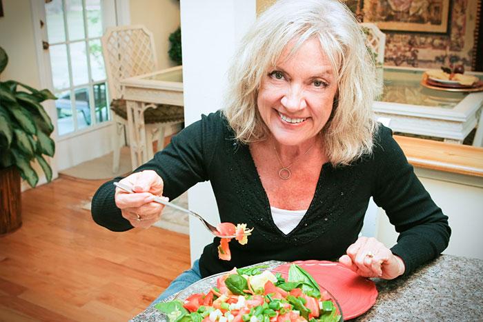 Productos rejuvenecedores: qué comer, no envejecer.