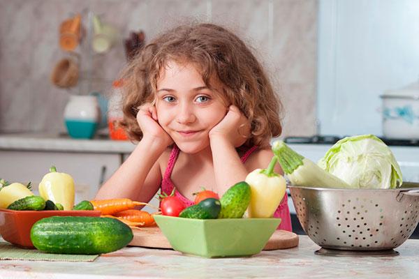 Как «подружить» ребенка с овощами