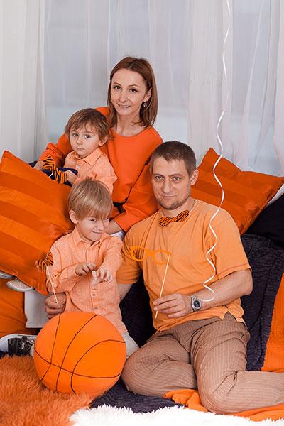 Cómo celebrar una sesión de fotos familiares de primera clase.