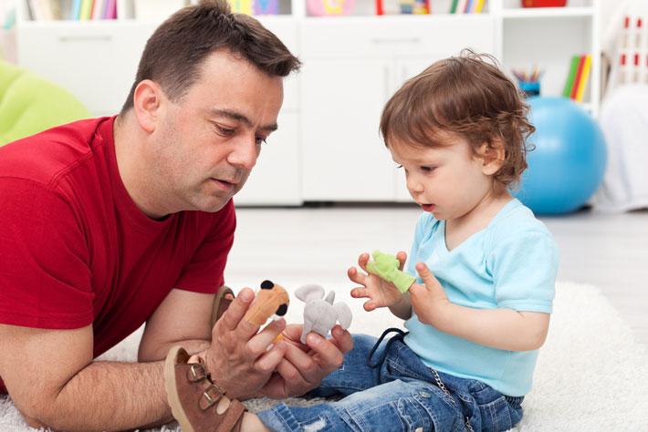 Fine motor skills and finger games for children
