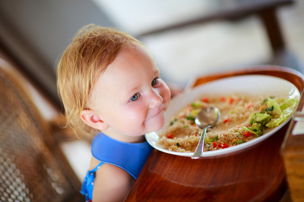 Прикорм: от простого к сложным блюдам