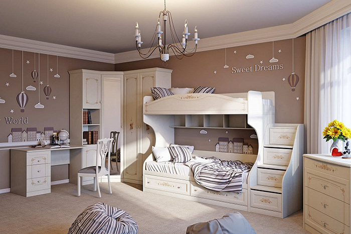 How to choose the furniture in the nursery?
