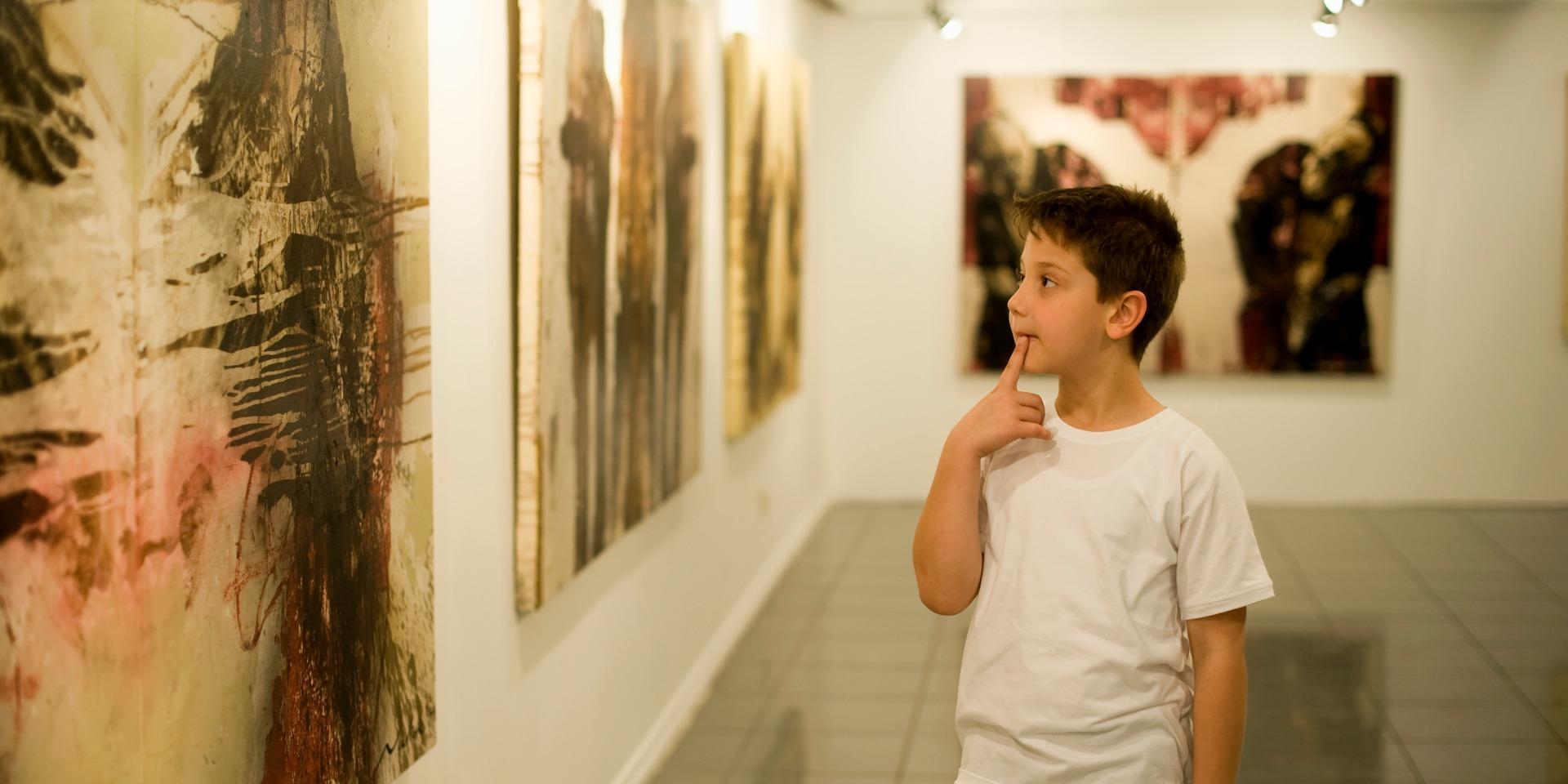 Как говорить с ребенком об абстрактном искусстве?