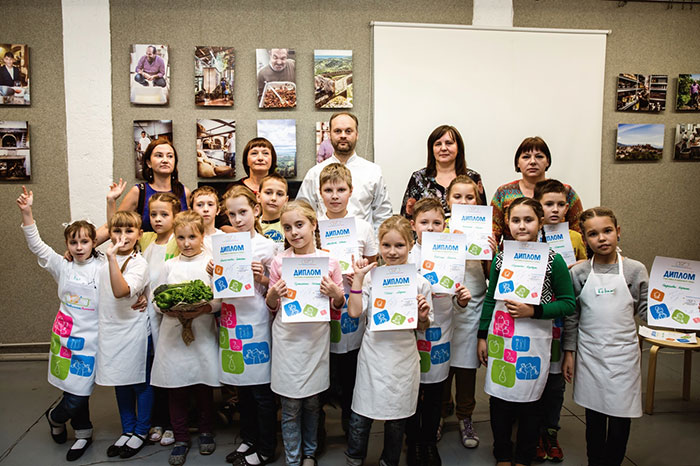 A festive master class took place on International Cooking Day
